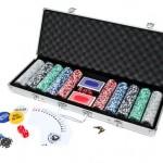Ultrasport Jeu de Poker Argent